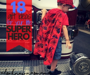 The ULTIMATE Super Hero Shopping Guide for Tots