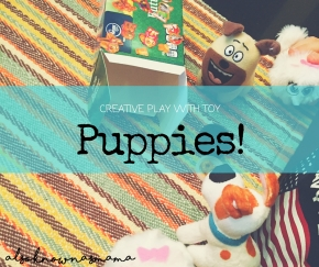 Creative Play with Toy Puppies