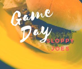 Game Day SloppyJoes