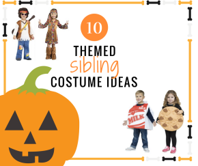 10 Unique Themed Sibling HalloweenCostumes
