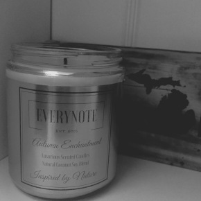Everynote All Natural Candles{Review}