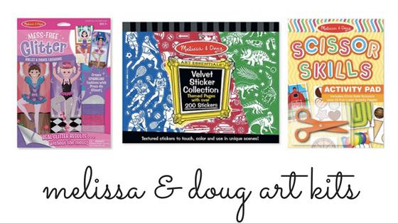 Gifts Under $5   Melissa & Doug art kits